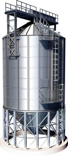 Conical silo