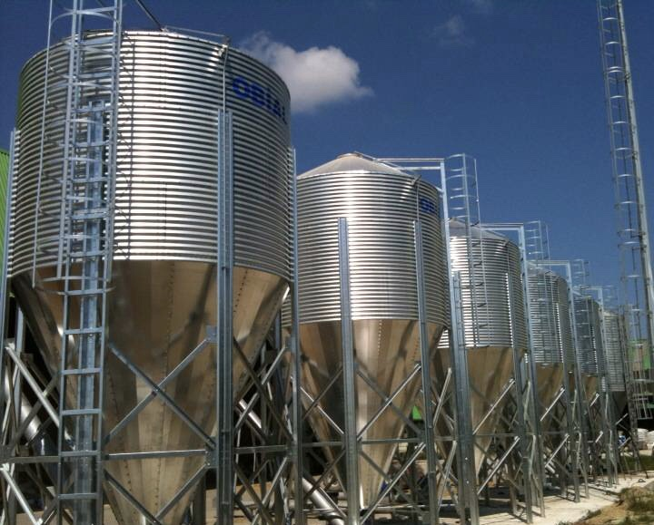 Conical bottom silos OBIAL project