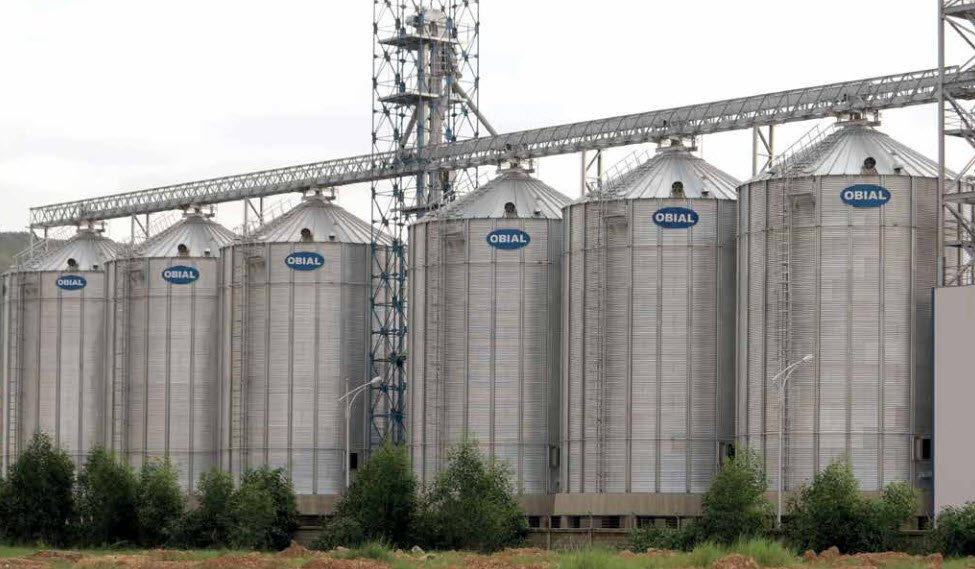 Flat bottom silos OBIAL