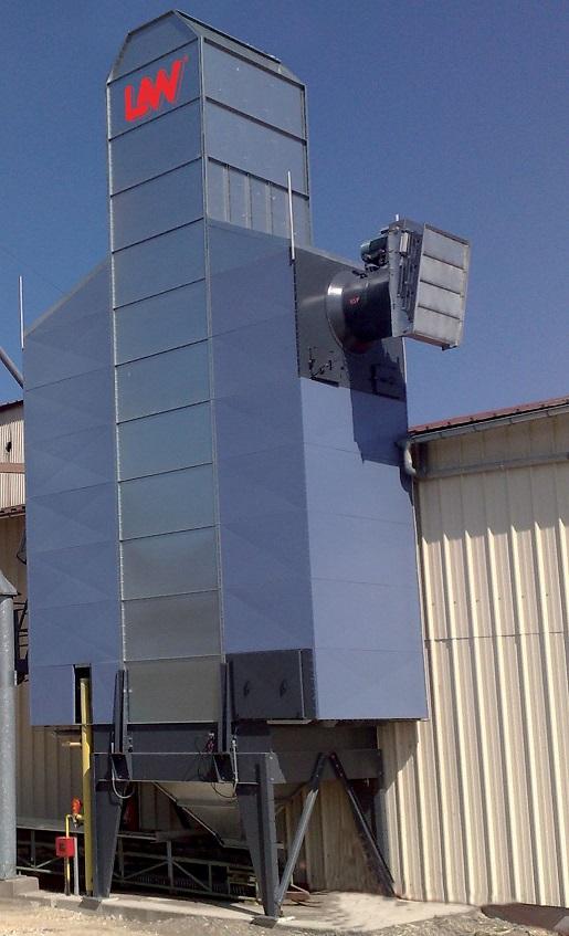 Batch grain dryer LAW SRI