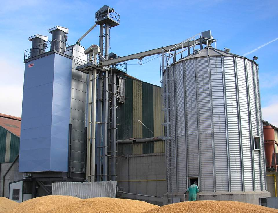 Flow grain dryer SBC 12L