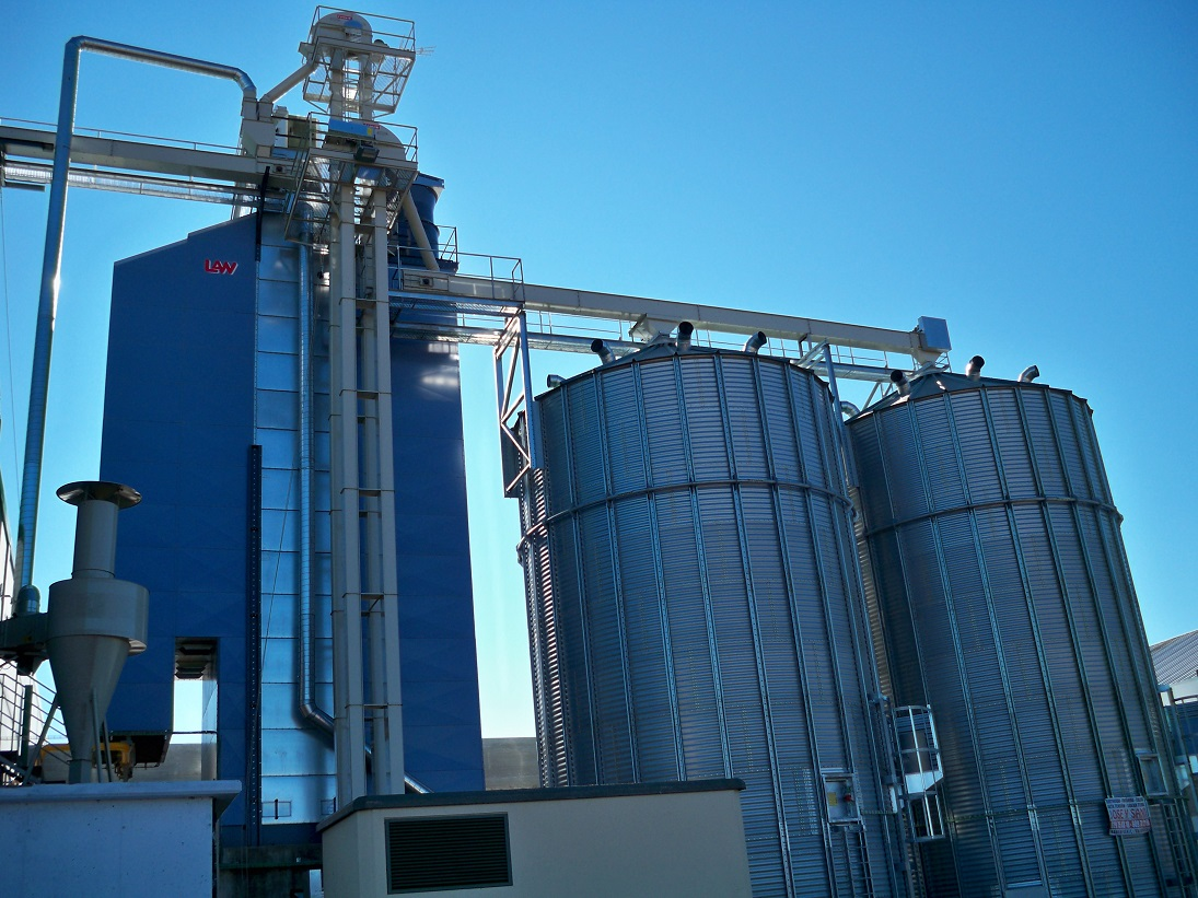 Flow grain dryer LAW SBC 13L