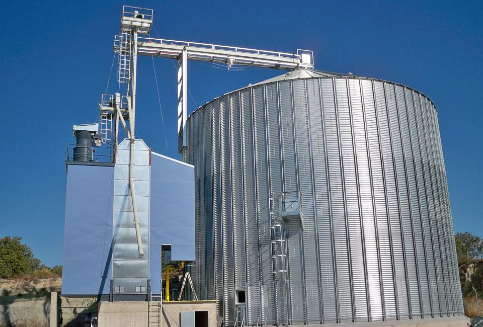Grain dryer SBC 8N with silo 2000 t