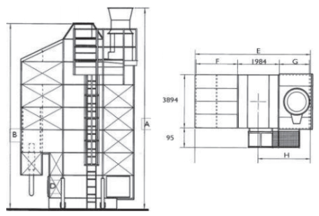 Grain dryer LAW SBC L sizes