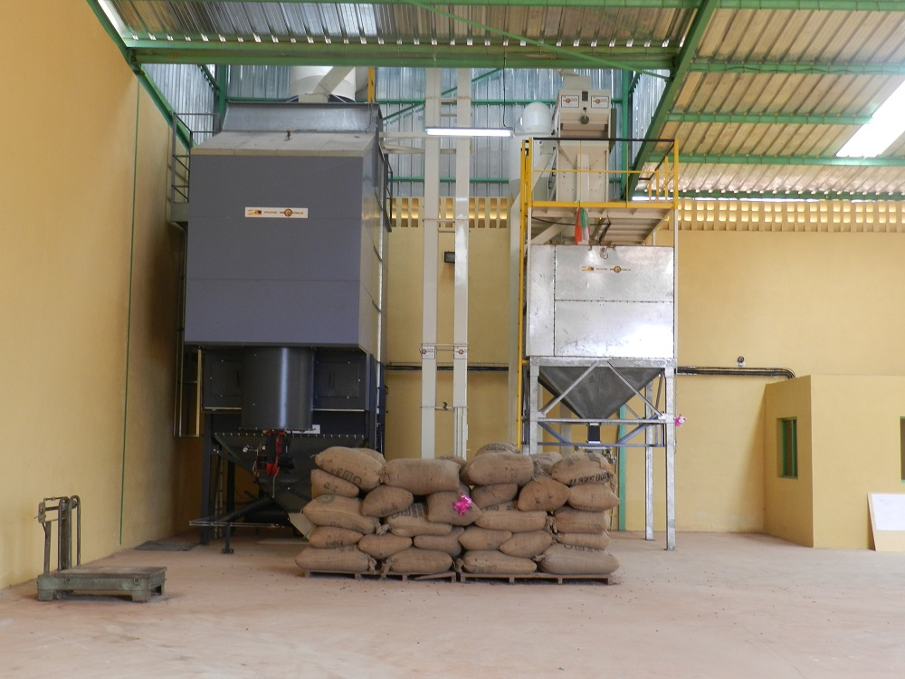 Batch grain dryer LAW SBC N