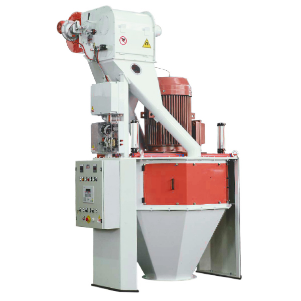 Vertical hammer mill