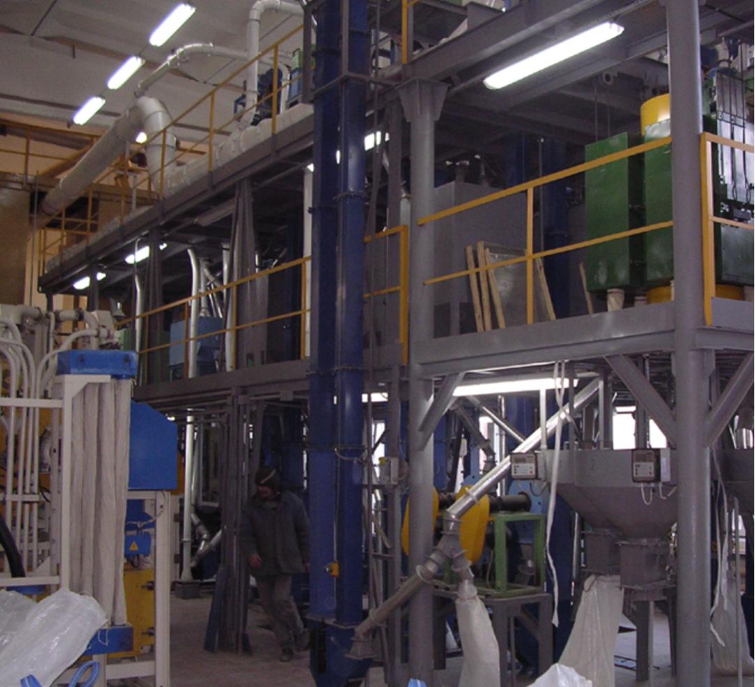 Moduļveida putraimu rūpnīca