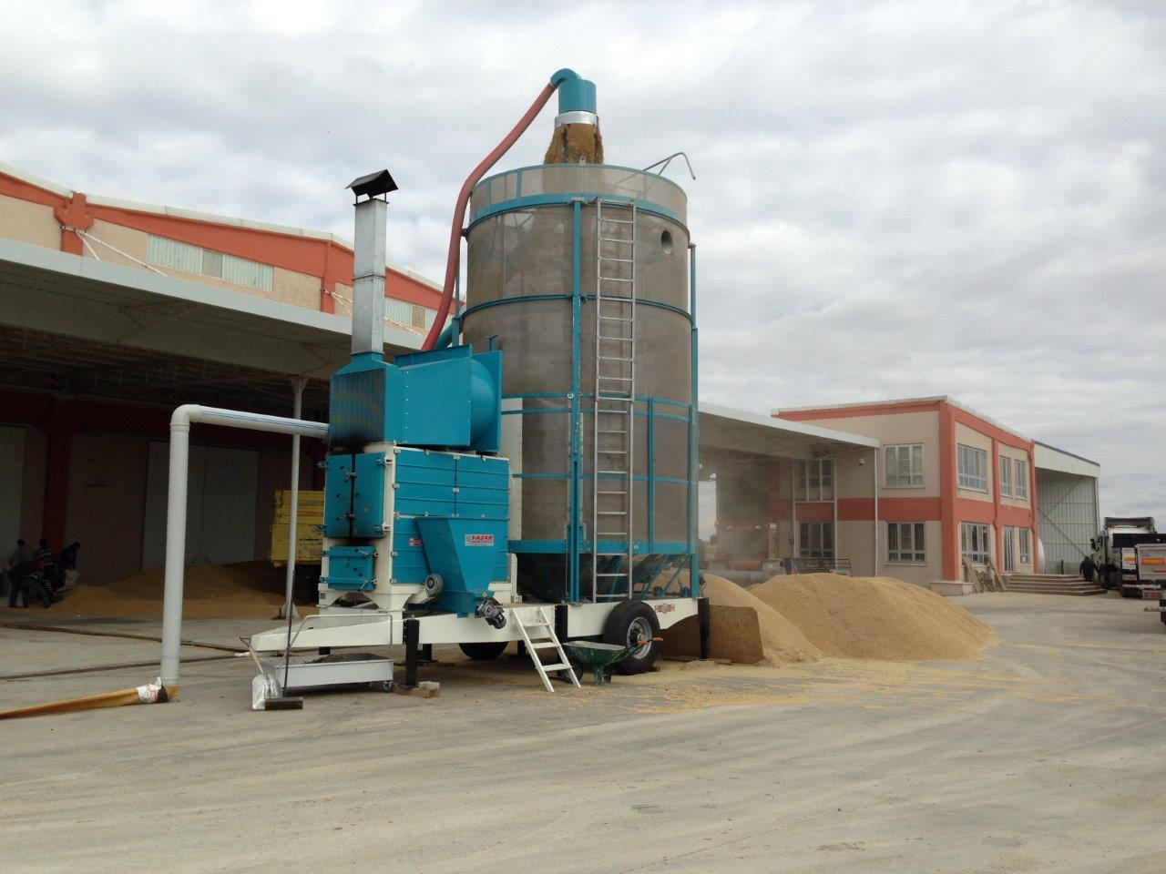 Mobile grain dryer 55 м3