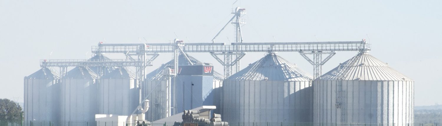Grain complex with dryer LAW