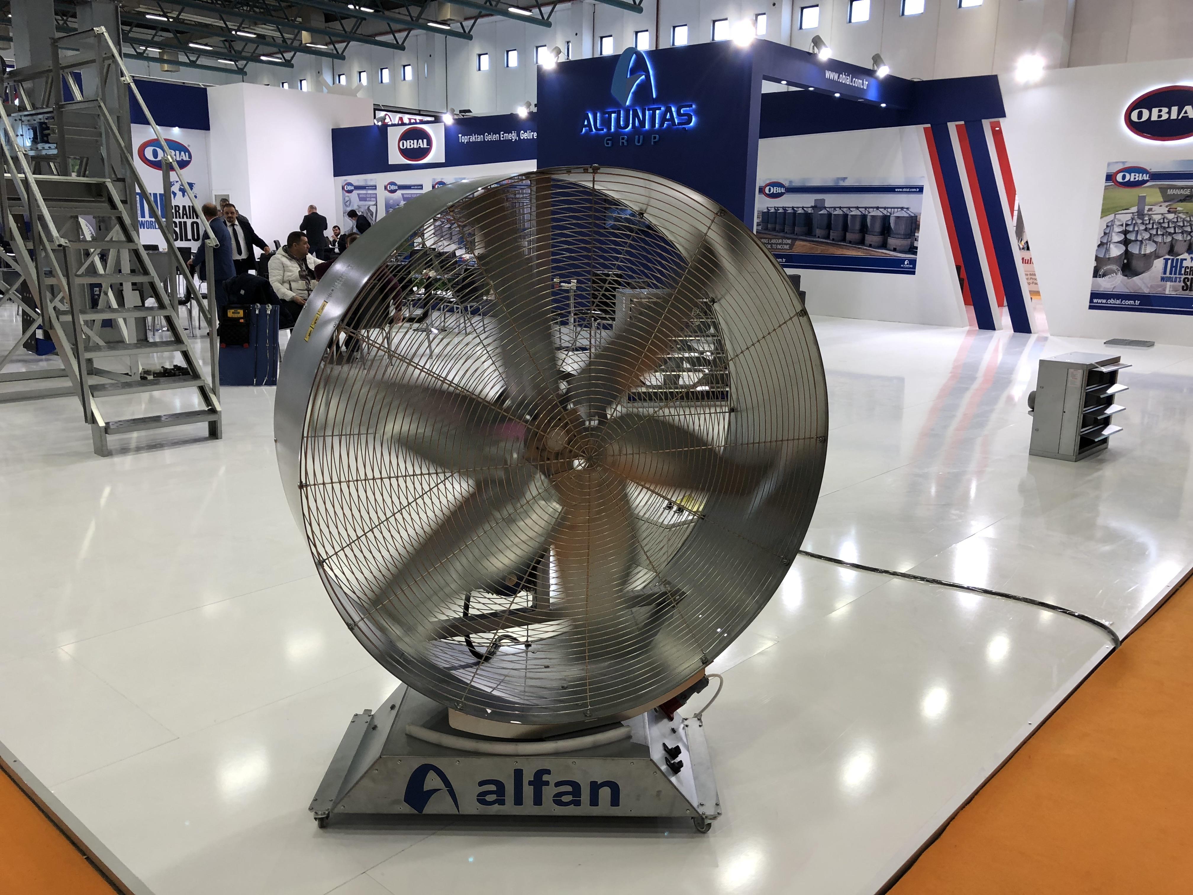 Industriālais ventilators ALFAN fermām