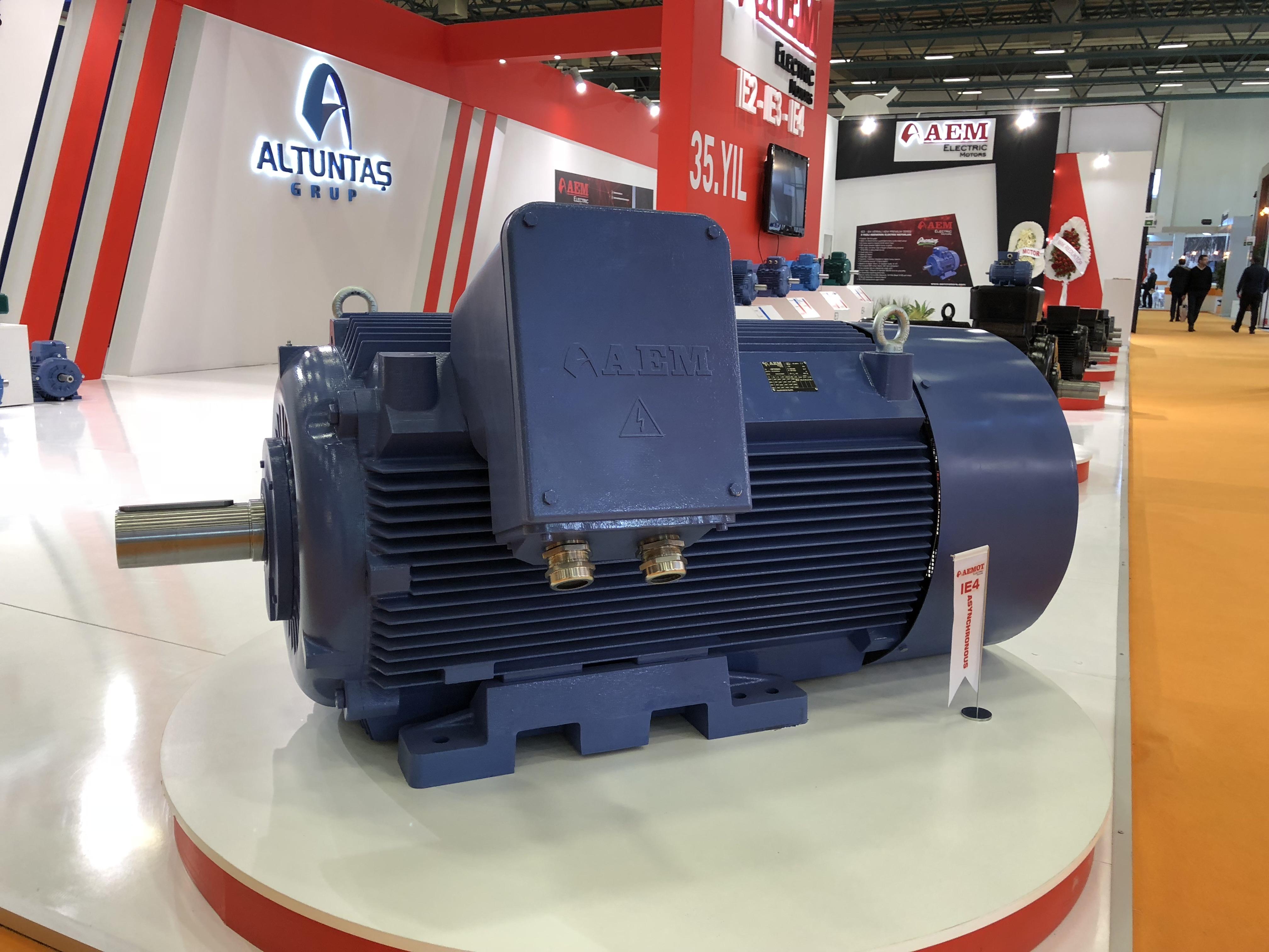 Elektrodzinējs AEM 250kW IE4