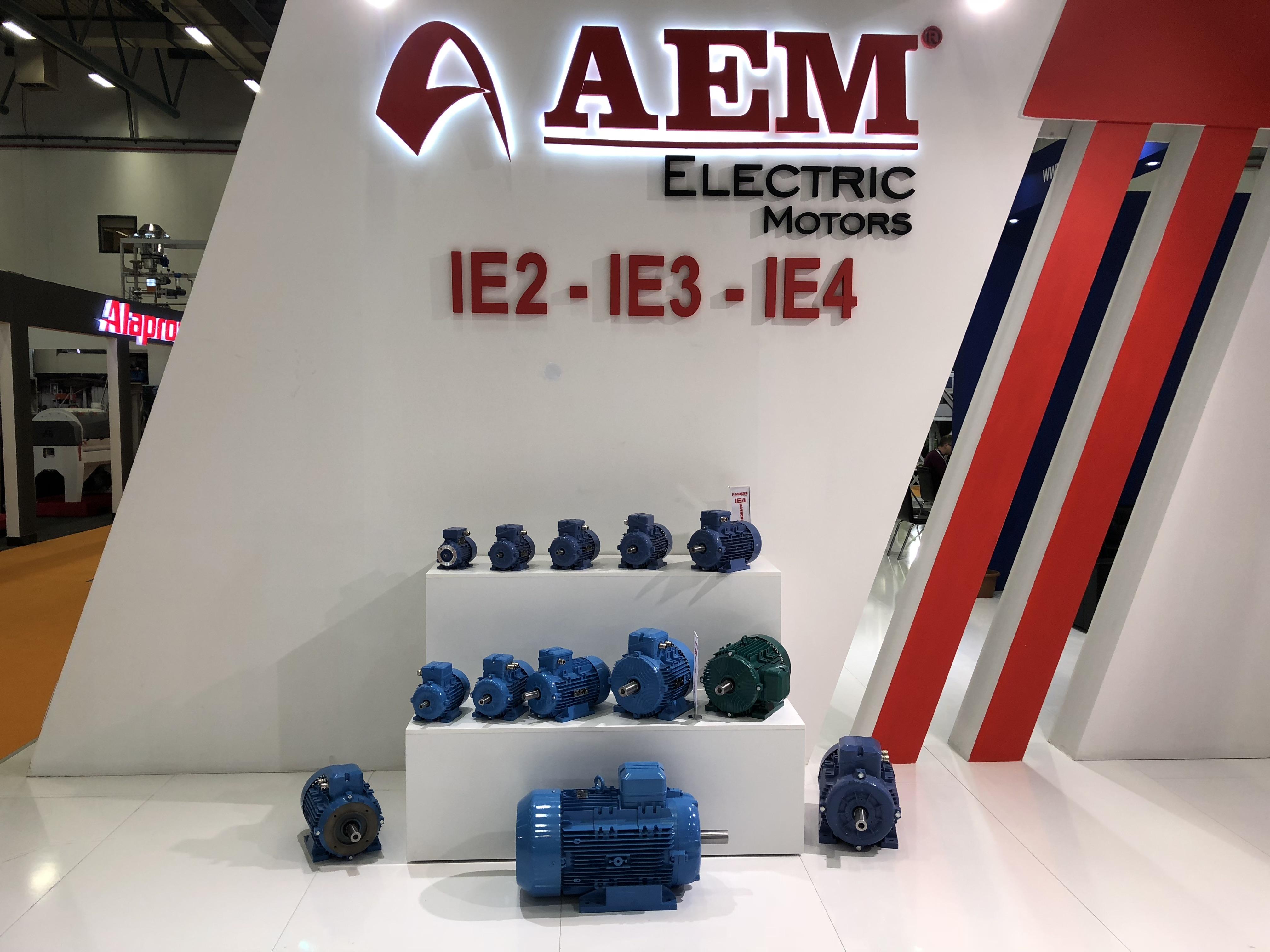 AEM elektrodzinēji IE2-IE3-IE4