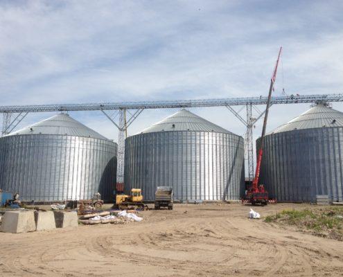 Grain silos, LBT, Liepāja