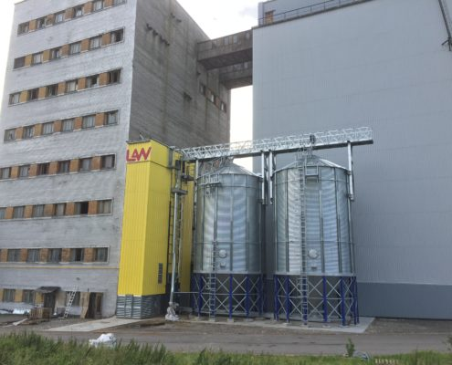 Grain dryer LAW 20 t/h, Rakvere, Estonia