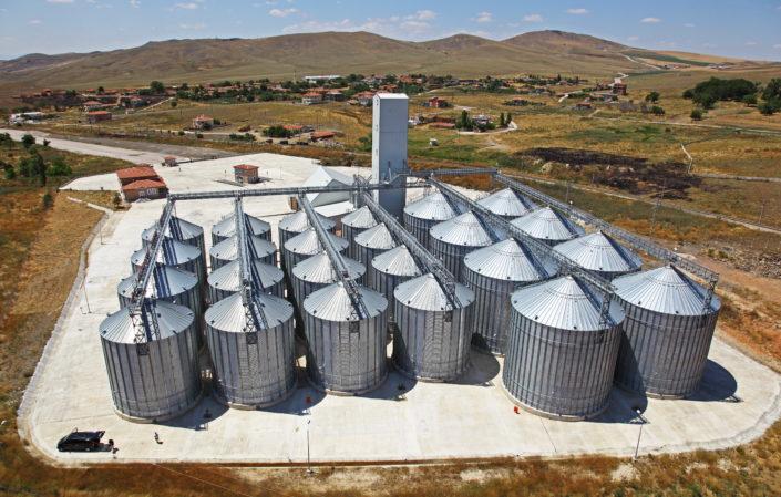 Зерновые бункеры OBIAL
