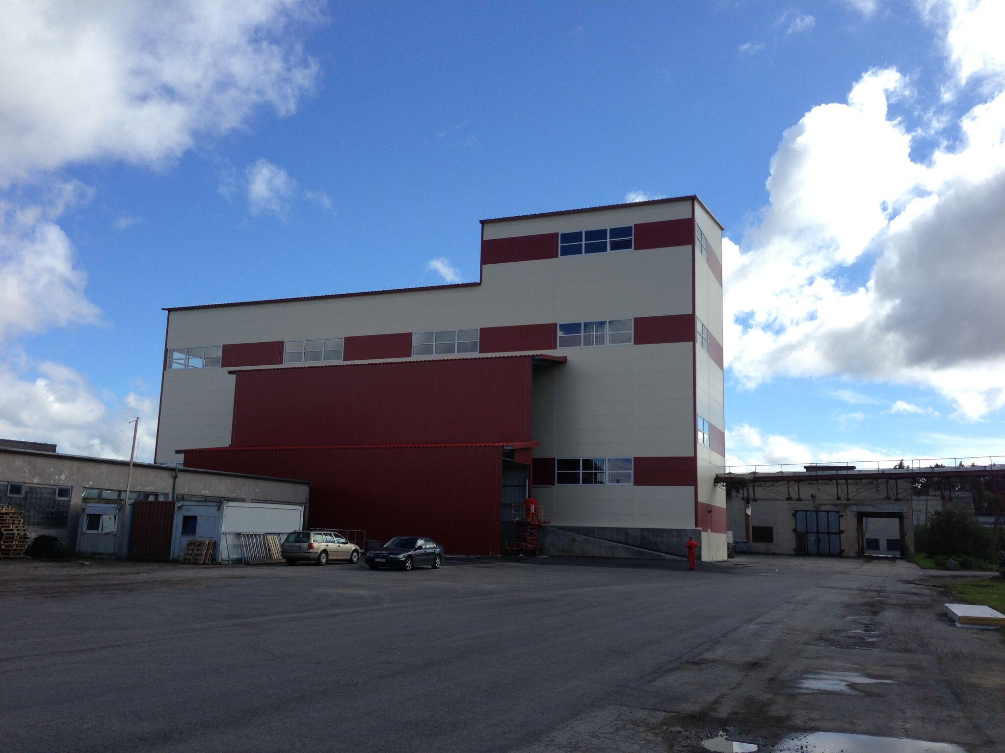 TSC silo system, rapeseed oil factory Iecava, Latvia. Balticovo