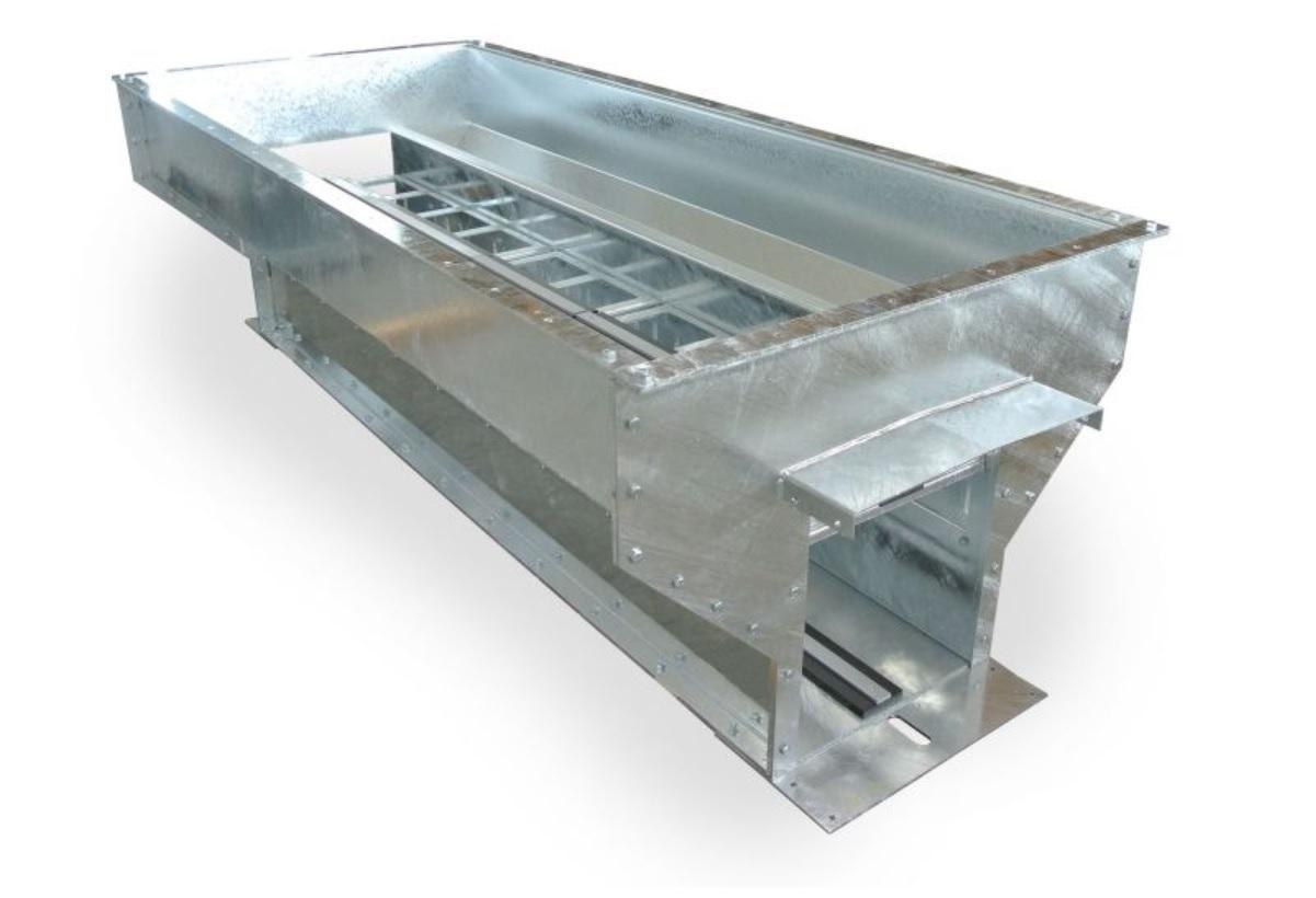 Intake pit conveyor