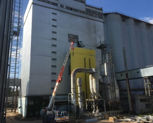 Grain dryer LAW 30 t/h, Scandagra