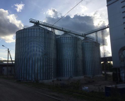 Grain silos Viljandi, Scandagra