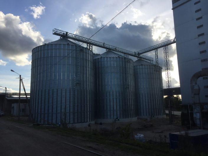 Зерновые силосы 3x3300t Viljandi