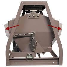 Mechanical batch grain scale