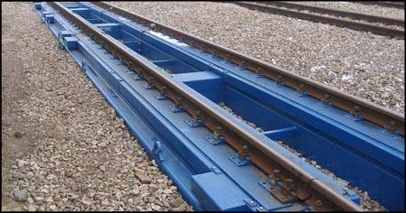 Bezpamata dzelzceļa svari
