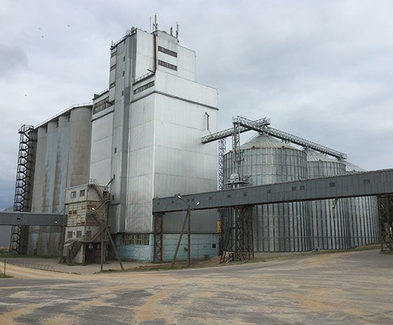 Зерновые бункеры Видьянды, Эстония